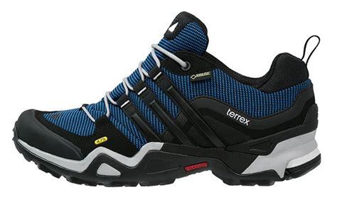 adidas terrex fast x gtx s approach walking shoes uk 10 blue