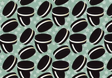 oreo pattern vector free oreo vector pattern 1 download free vector art