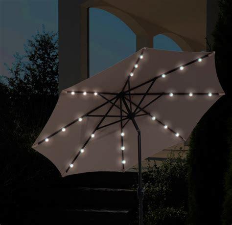beleuchtung ohne strom sonnenschirm schneider las vegas 270cm stockschirm