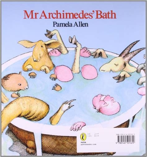 libro mr archimedes bath picture mr archimedes bath picture puffins book kids