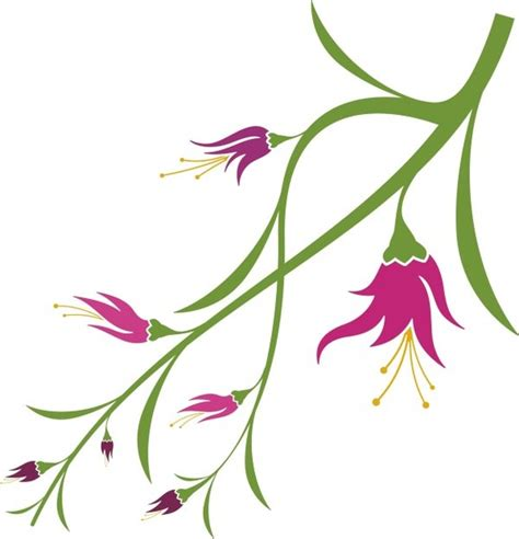 free vector graphics design elements vector graphics vivid with flower elements vector graphics free vector in