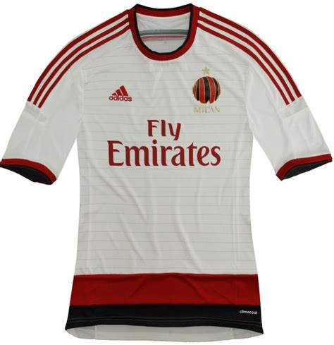 Jersey Ac Milan Away Official flagwigs new ac milan away jersey jersey shirt kit 2014
