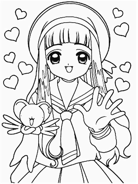 Cardcaptor Coloring Pages by Cardcaptor Coloring Page Coloring Pages Of