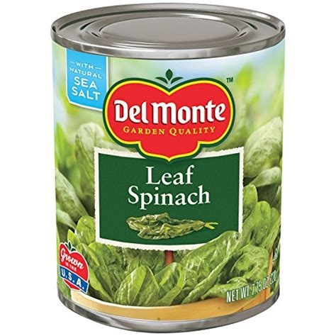 Delmonte Fresh Cut Healves825gr29oz monte fresh cut leaf spinach 7 75 oz pack of 12 menuculture