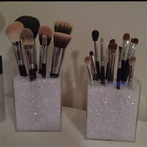 Vase Filler For Makeup Brushes by Makeup Brush Holders Acrylic Box And Brush Holders On