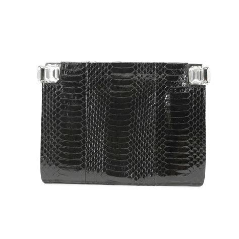 Clutch Fashion 732 second dries noten watersnake clutch the fifth collection