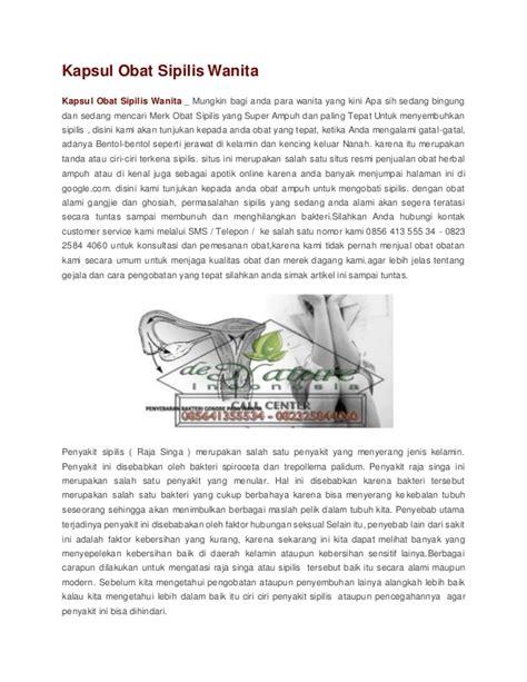 Obat Em Kapsul kapsul obat sipilis wanita