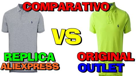 aliexpress vs review comparativo polo ralph lauren original vs