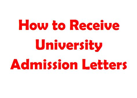 Letter Of Acceptance Egerton how to receive admission letter and helb