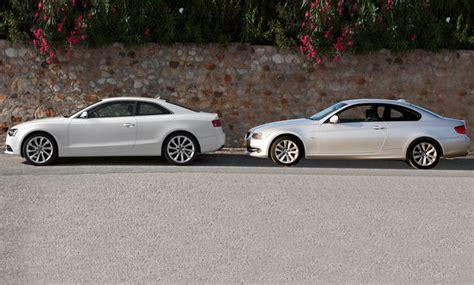 Audi Gegen Bmw by Audi Gegen Bmw Markenvergleich Teil 6 A5 Und 320i Coup 233