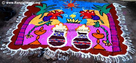 rangoli themes for pongal pongal rangoli 2014 collection 5