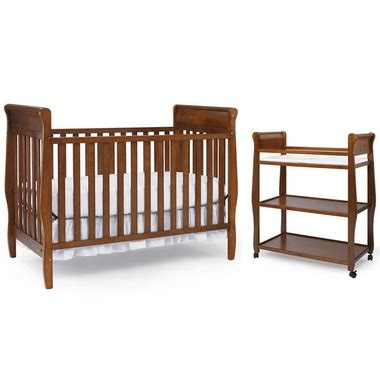 Graco Convertible Crib With Changing Table Graco Cribs 2 Nursery Set Convertible Crib And Changing Table In Cinnamon