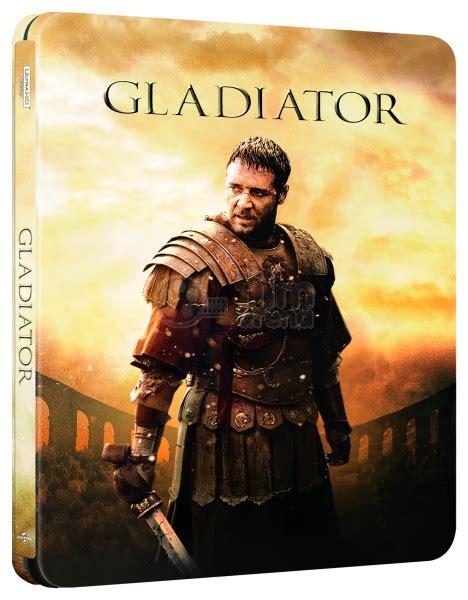 gladiator film book gladiator 4k ultra hd steelbook limited collector s