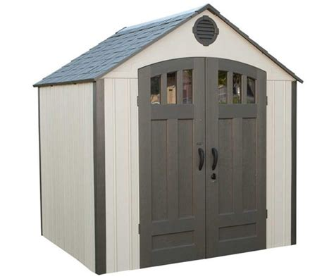 5 X 6 Storage Shed by Lifetime 8 X 6 5 Ft Outdoor Storage Shed