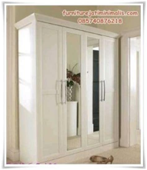 Lemari Portable Putih 4 2 4 Pintu lemari baju gantung minimalis lemari baju lemari pakaian