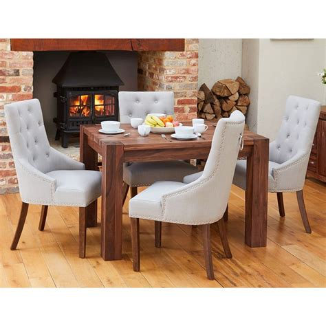 shiro solid walnut furniture small dining table