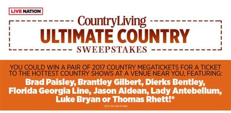 Country Sweepstakes - sweepstakeslovers daily investigation discovery country living more