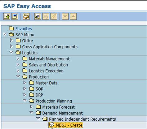 sap jsp tutorial long term planning ltp tutorial in sap pp ms31 ms02 md61