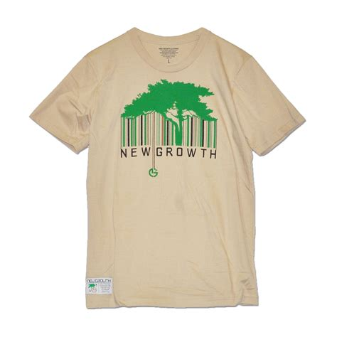 T Shirt Barcode barcode t shirt new growth clothing