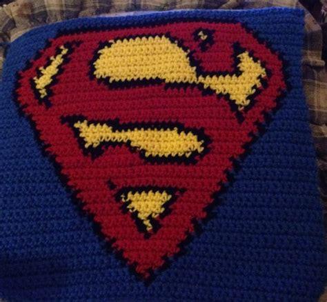 superman logo crochet pattern superman logo crochet pinterest