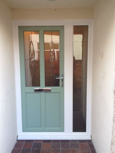 Upvc Front Door In Chartwell Green Garden Pinterest Green Upvc Front Doors