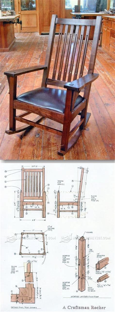 rocking bench plans 17 best ideas about craftsman rocking chairs on pinterest