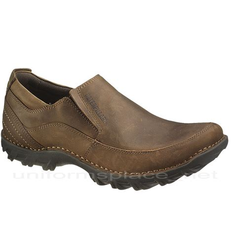 stride shoes s caterpillar mens stride shoes leather slip on