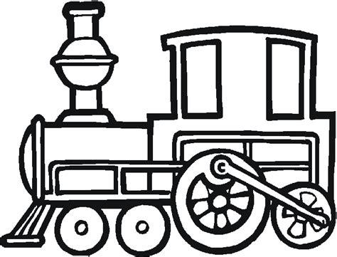 coloring page of a train engine dibujos para imprimir y colorear trenes para colorear