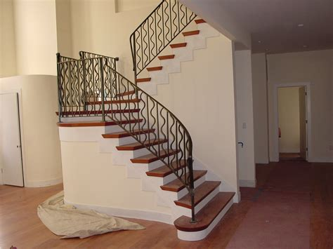 Design Ideas For Indoor Stair Railing Excellent Ideas And Design For Indoor Staircase Seventies Ranch Update