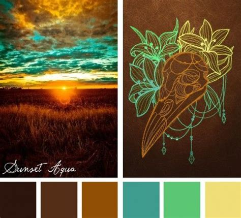 find unexpected color combinations in nature with this