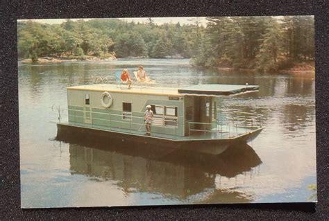 ebay house boats 1960s explorer houseboat rentals house boat brockville on canada leeds co pc ebay