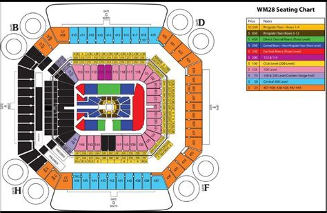 how much does a section 32 cost wwe wrestlemania 28 seating chart and ticket prices