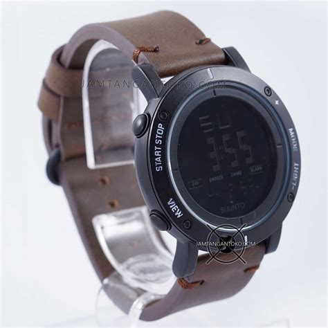 Jam Tangan Rolex Coklat Tua harga sarap jam tangan suunto essential hitam coklat tua