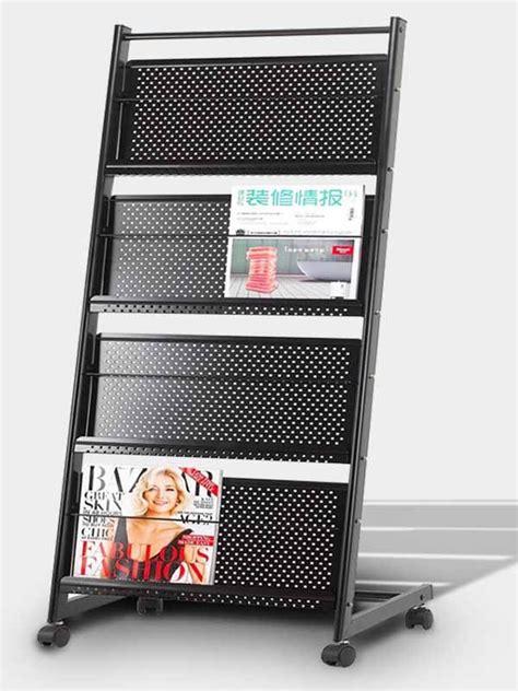 design magazine stand brochure and magazine stand