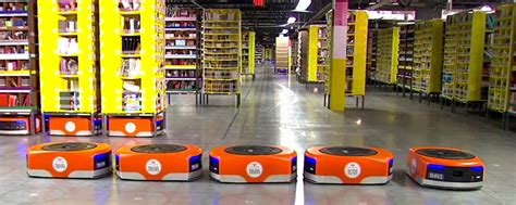 amazon warehouse robots amazon s warehouse robots already paying dividends