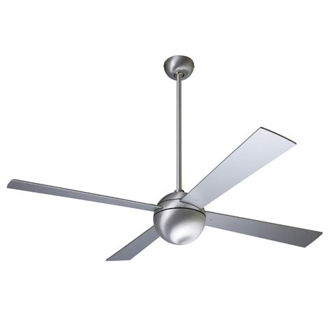 modern ceiling fans ball 174 contemporary 42 52 inch ceiling fan w optional remote and light kit by modern fan company