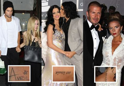 celebrity couple tattoos hurts tattoos sanskrit