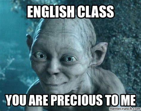 Memes About English Class - english class