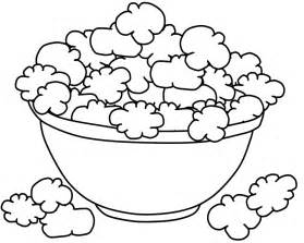 popcorn coloring pages popcorn coloring sheet az coloring pages