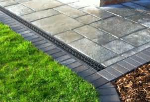 Patio Channel Drain by Drainage Systems Soak Away French Drains Patio