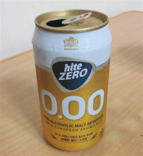 Hite Zero 0 0 Can 355ml hite zero 0 00 korean non alcoholic modern seoul