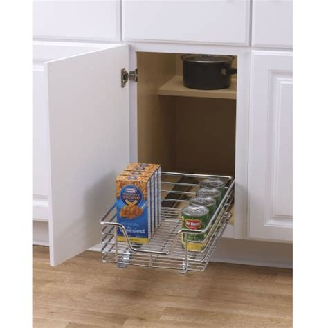 Kitchen Cabinet Sliding Racks by Cabinet Organizer Sliding Rack Kitchen Storage Cupboard