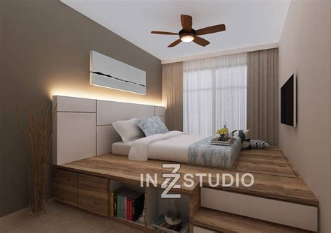 Platform Bedroom Designs Tips To Maximise Space With Platform Bed