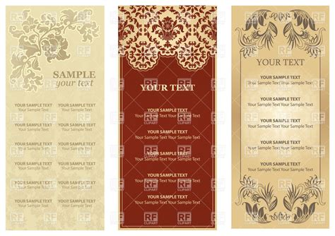 dinner menu templates free download www imgkid com the