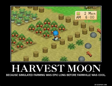 Harvest Moon Meme - harvest moon motivational poster by mountaineyes ext