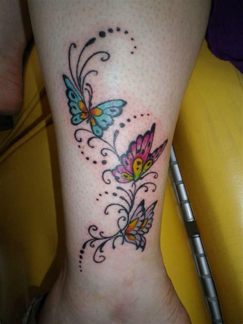 coloured wrist tattoos colored butterfly tattoos on wrist tattooshunt