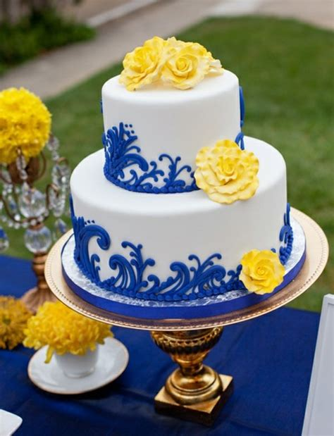blue and yellow wedding cupcakes wedding cakes pictures blue yellow and white