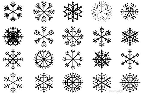 snowflake clipart snowflake clipart winter pencil and in color