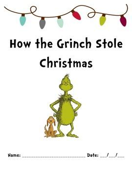 printable version of how the grinch stole christmas all worksheets 187 how the grinch stole christmas worksheets