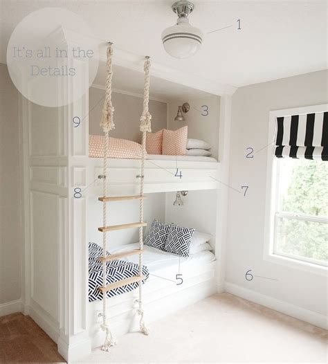 stylish bunk beds stylish bunk bed plans it s all in the details